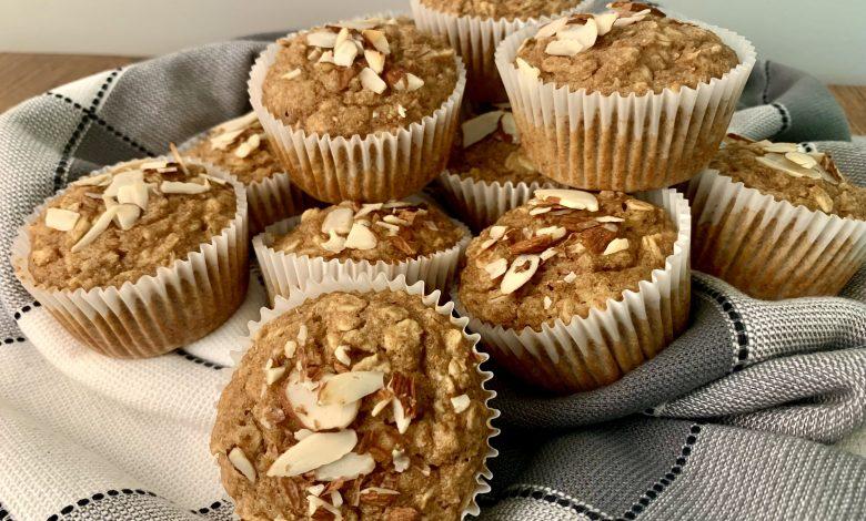 Autumn Applesauce Muffins